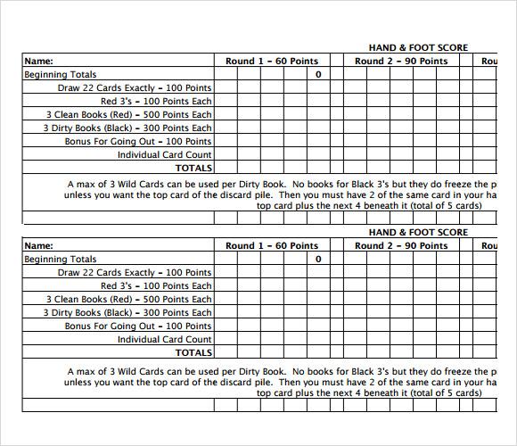 Unique Bridge Score Sheet Template Photos - Best Resume Examples by - bunco score sheets template