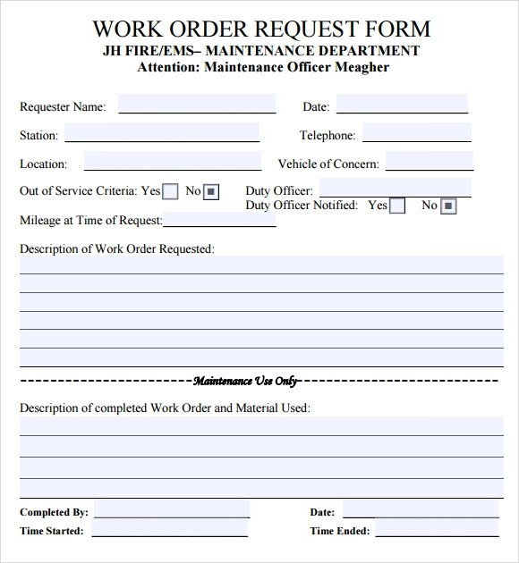 Sample Maintenance Contract Template | Resume Pdf Download