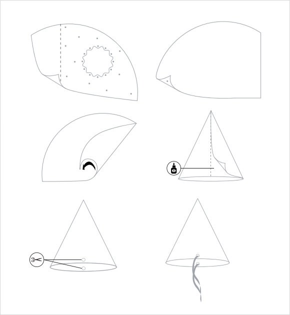9+ Party Hats Sample Templates