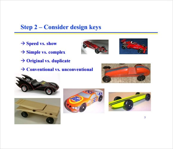 12 Sample Pinewood Derby Templates to Download Sample Templates - pinewood derby template