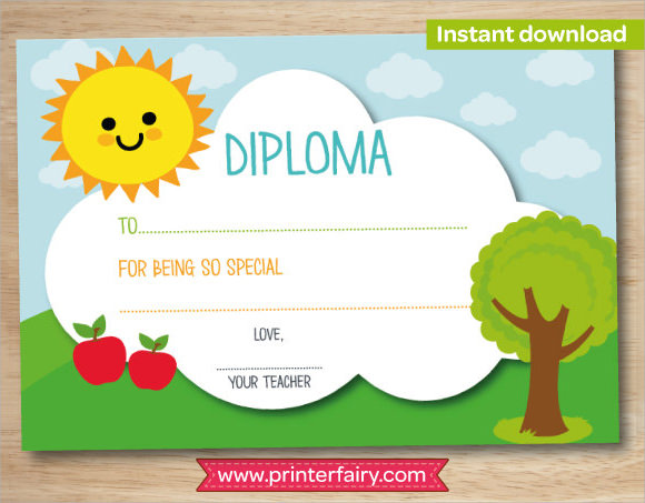 graduation diploma template microsoft word - Diploma Word Template
