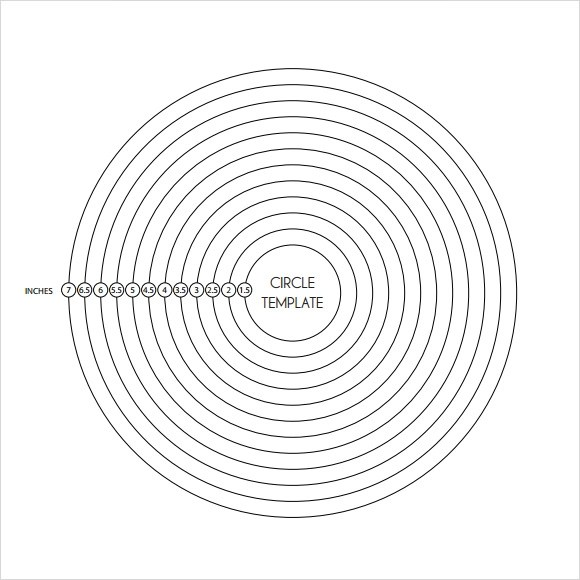 9 Amazing Circle Templates to Download for Free Sample Templates - circle template