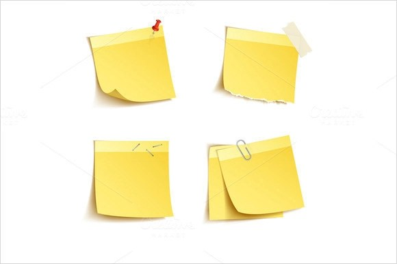 10+ Sample Sticky Notes Sample Templates