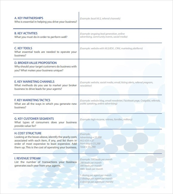 Free real estate business plan template costumepartyrun real estate business plan template 7 download free saveenlarge fbccfo Images