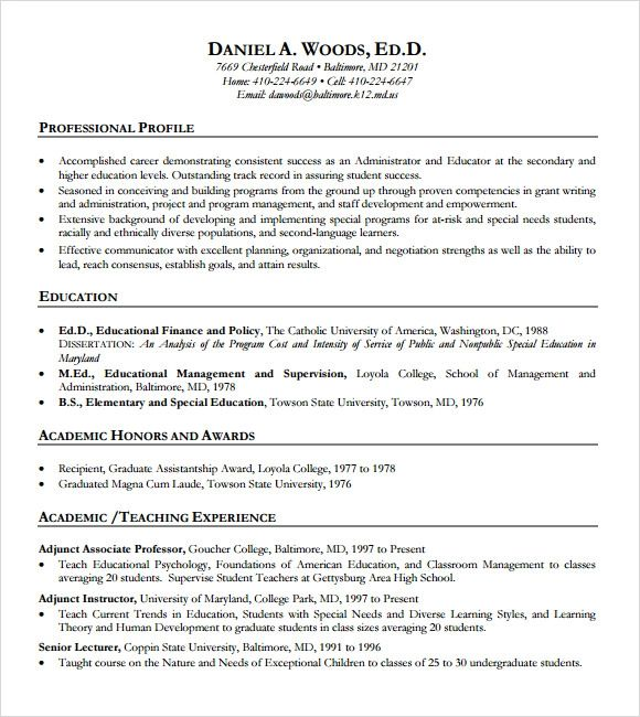 template for college resume on microsoft word