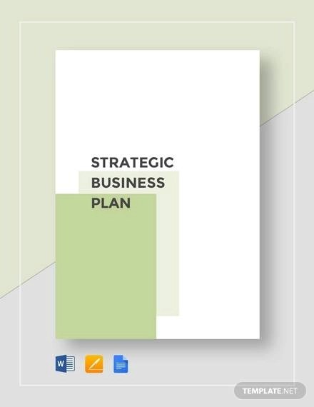 11+ Strategic Business Plan Templates - Download Free Documents in