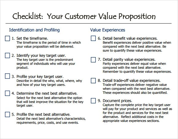 10+ Value Proposition Samples Sample Templates