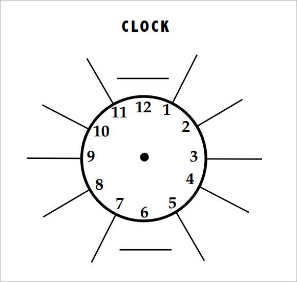 10+ Clock Samples Sample Templates