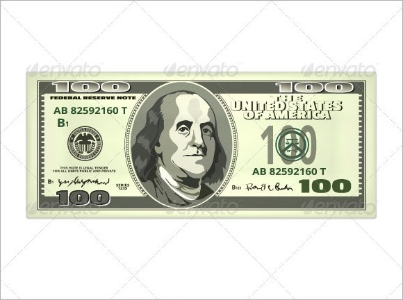 9 Attractive Sample Play Money Templates to Download Sample Templates