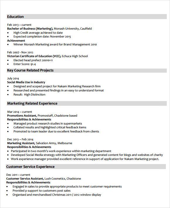 market analyst resumes - Militarybralicious - marketing analyst resume