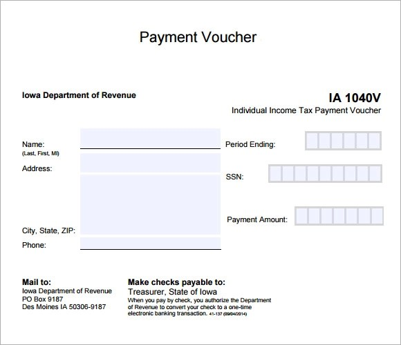 Payment Voucher Sample - 7+ Documents in PDF - how to make vouchers