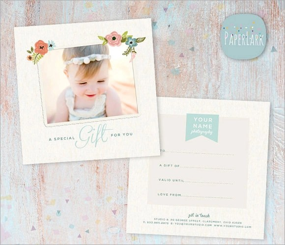 Photography Gift Certificate Template - 12+ Download Documents in