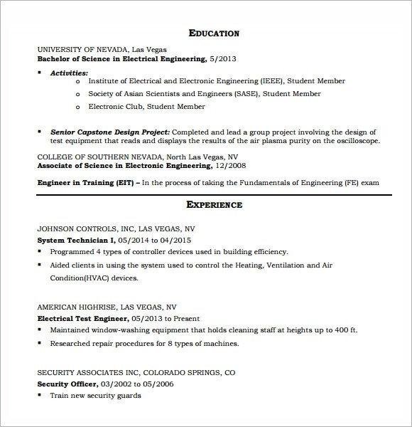 Chemistry Resume Resume Format Download Pdf Make Resume Format Eit On Resume  Sample Geologist Resume Chemical  Eit On Resume