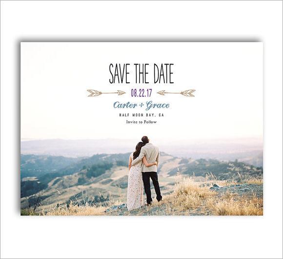 10+ Sample Save the Dates Sample Templates