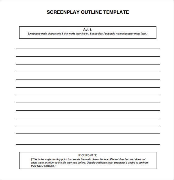 6+ Screenplay Samples Sample Templates - screenplay template