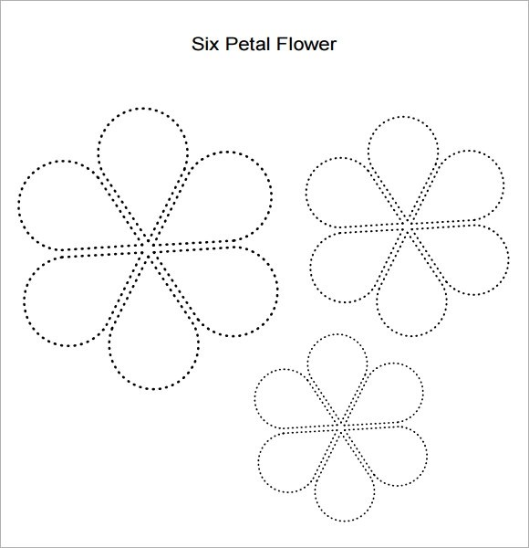 10 Beautiful Sample Flower Petal Templates Sample Templates - flower petal template