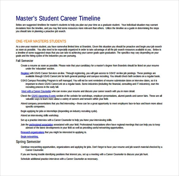 Nice Sample Career Timeline Frieze - Resume Ideas - bayaarinfo