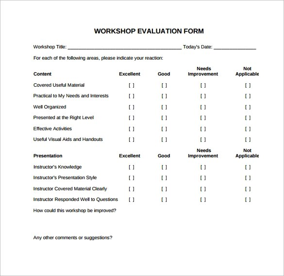 simple evaluation template - Militarybralicious - presentation evaluation form in doc