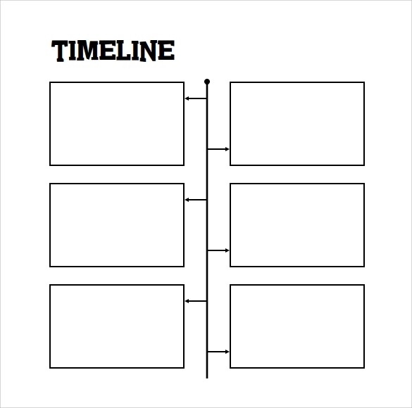 8+ Timeline for Student Samples Sample Templates - timeline template