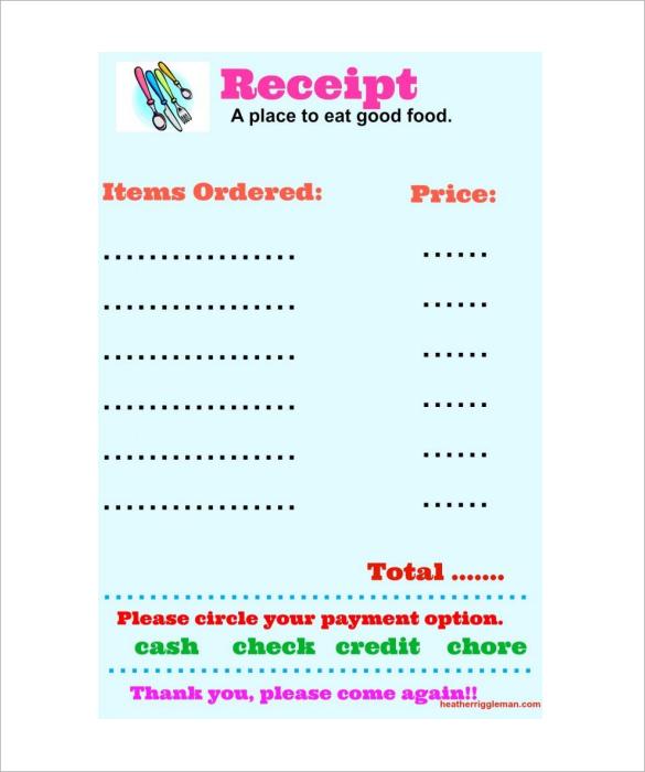 Hand delivery receipt template - visualbrainsinfo