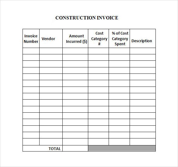 29+ Sample Invoice Templates Sample Templates