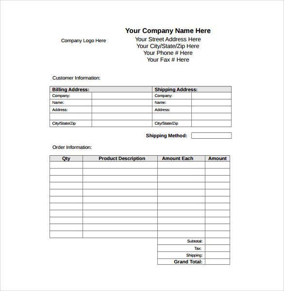 9 Sample Receipts Sample Templates - business receipts templates