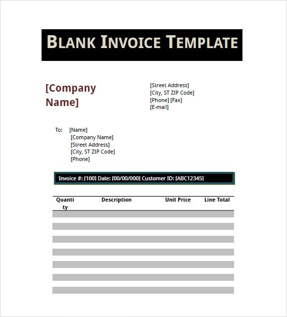 invoice templates pdf