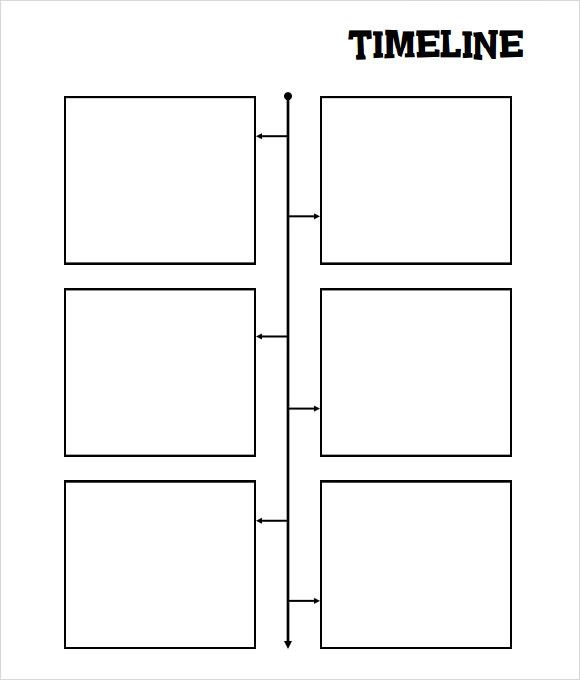 timeline blank templates