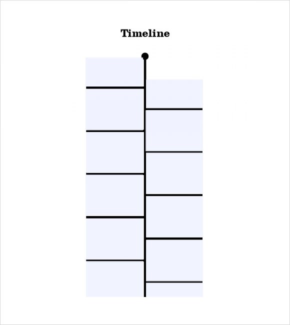 9 Timeline Templates for Students \u2013 Samples, Examples  Format