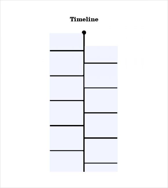 9 Timeline Templates for Students \u2013 Samples, Examples  Format - timeline template for student