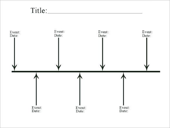 Blank Timeline Template Sample Career Timeline Documents In Pdf Psd