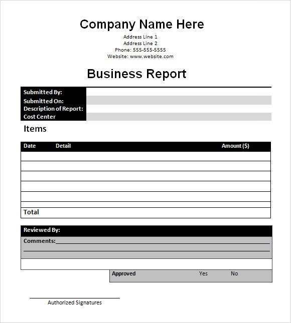16+ Sample Business Reports Samples, Examples, Templates