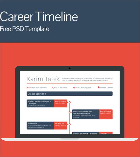 9+ Career Timeline Samples Sample Templates
