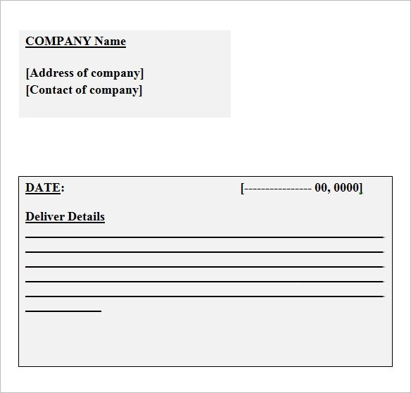 12 Business Receipt Templates \u2013 Free Samples, Examples  Format