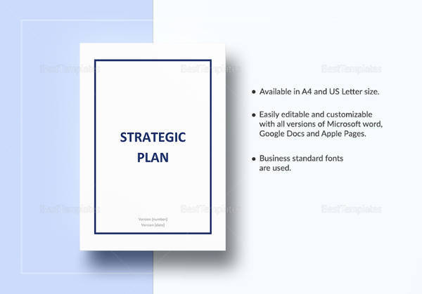 Sample Strategic Plan Template - 11+ Free Documents in PDF, Word
