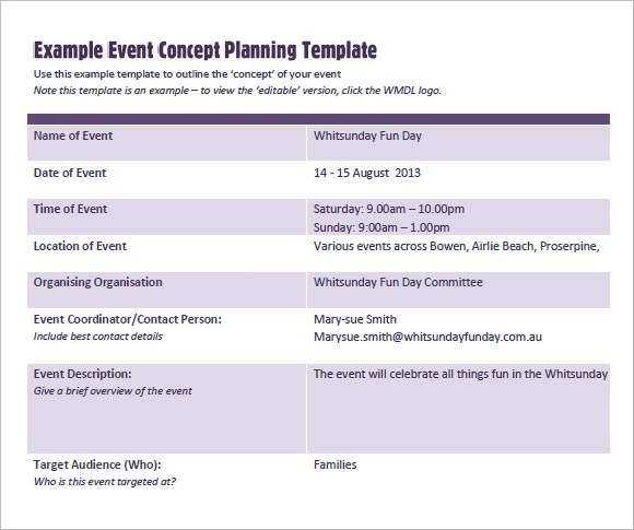 free event proposal template download - Baskanidai - event planning proposal sample