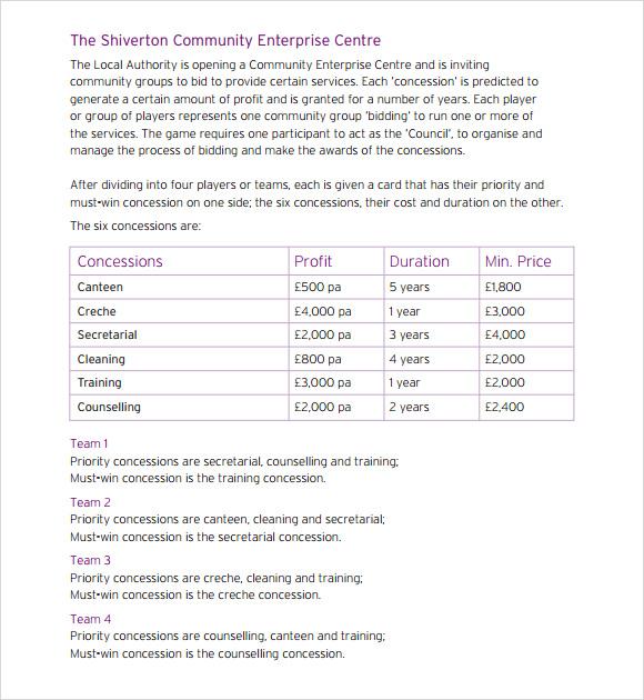 6+ Sample Financial Business Plan Templates Sample Templates - financial business plan template