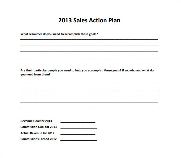 Sample Sales Plan - 9+ Example, Format - how to write a sales plan template