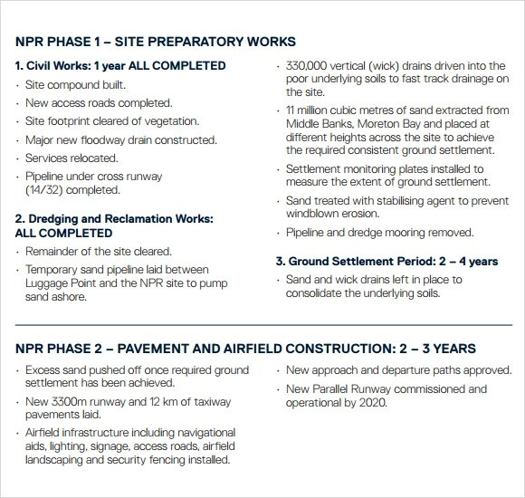 Sample Construction Timeline - 5+ Documents in PDF, PSD - construction timeline