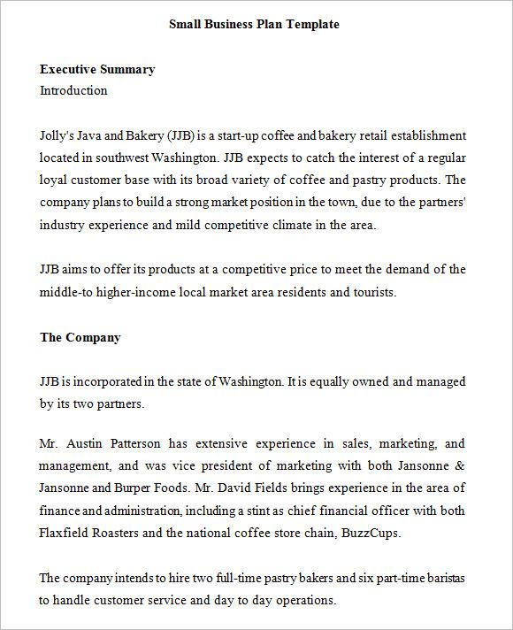Business Plan Cover Letter - sarahepps -