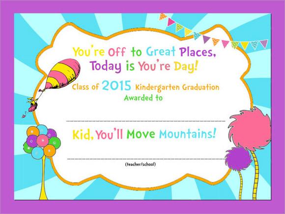 preschool graduation certificate templates - Ozilalmanoof - graduation certificate template free