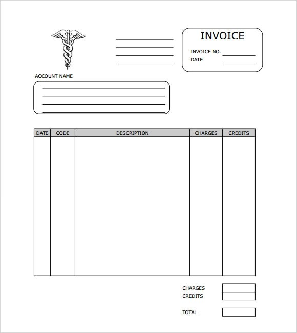 9 Medical Invoice Templates \u2013 Free Samples, Examples  Format - Medical Invoice