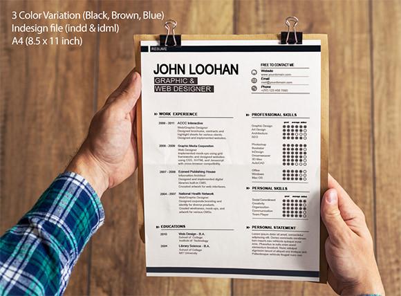 10 Modern Resume Templates \u2013 Samples , Examples  Format Sample - modern professional resume templates