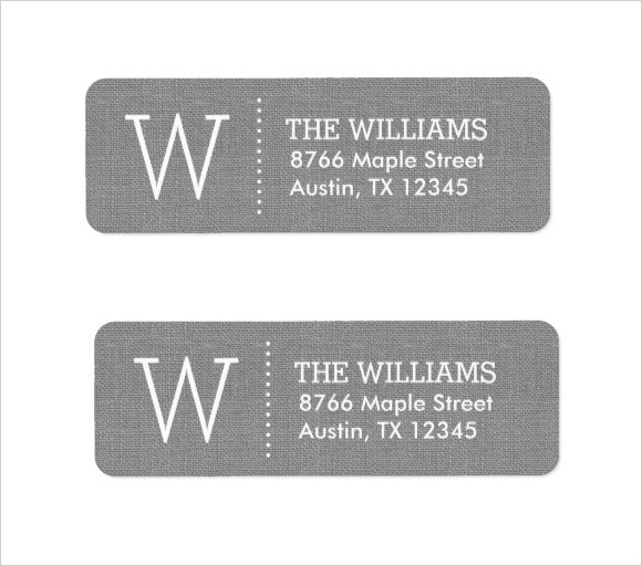 10 Return Address Label Templates \u2013 Samples , Examples  Format