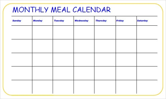 11+ Meal Planning Samples Sample Templates