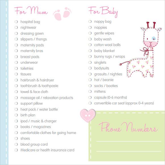 Sample Newborn Checklist Baby Room Cleaning Checklist Frugal - newborn checklist