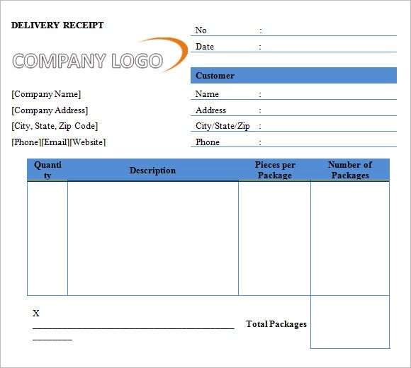 free templates for receipts