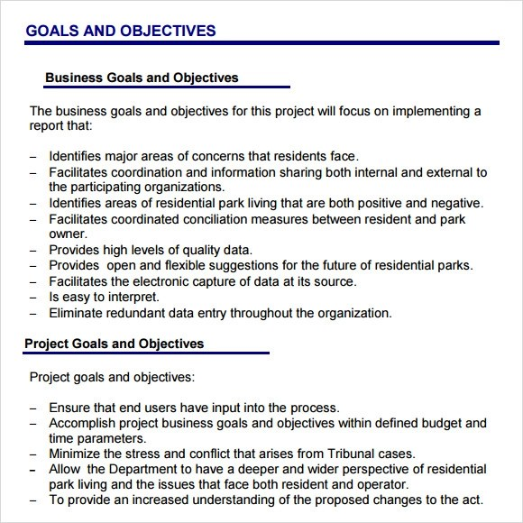 Sample Project Plan - 15+ Examples, Format