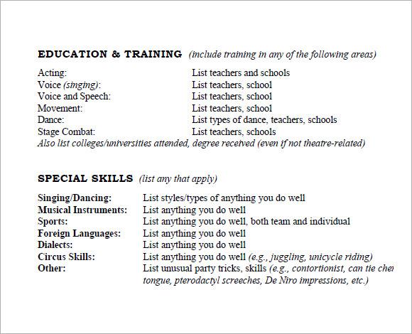 Critical Essay Organization Template Online Homework Math Homework - special skills on acting resume