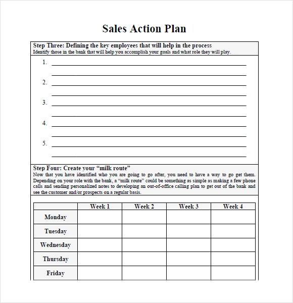 Marketing action plan pdf - action plan in pdf